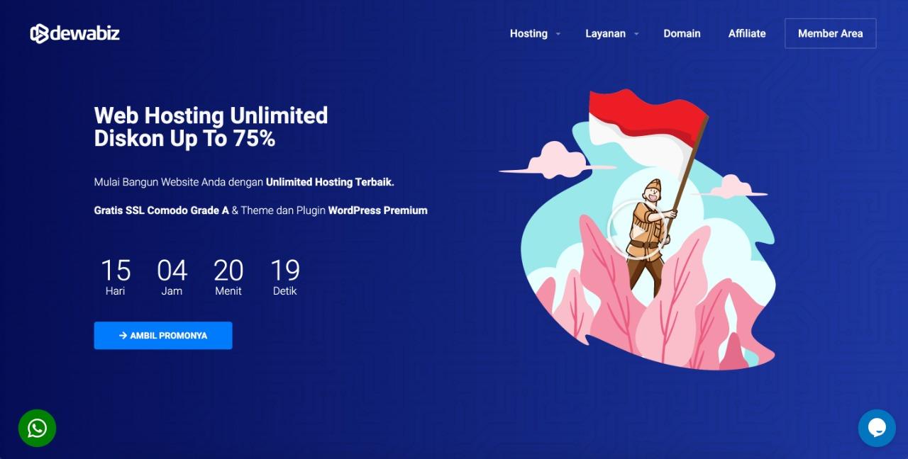 Web-Hosting-Unlimited-Dewabiz
